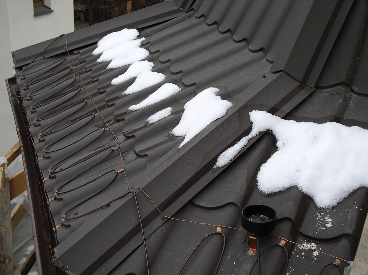 anti icing systems for roof