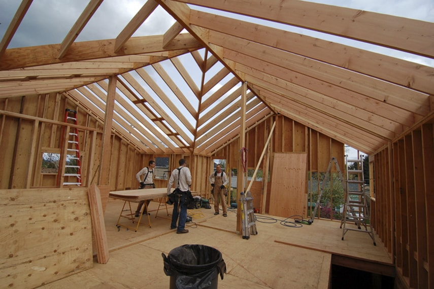 How To Build Wooden Framed House