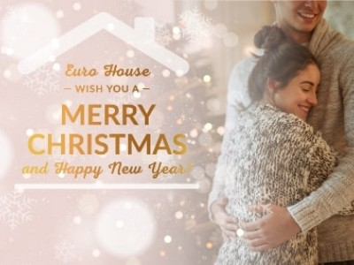 Congratulations on the New Year 2019 from the family Euro House