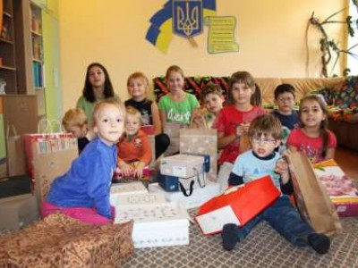 "Gifts for children for the ""First Bell"""