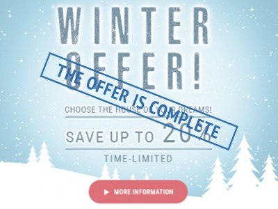 Winter offers from EuroHouse!